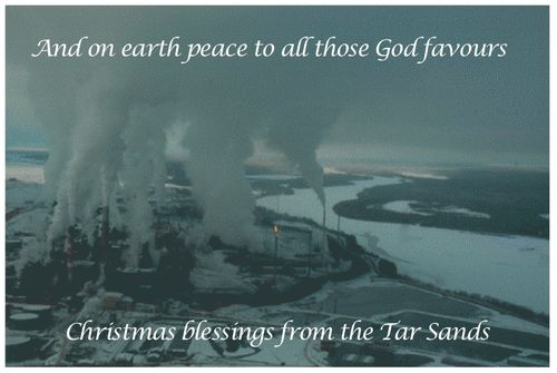 Tar Sands Christmas Card